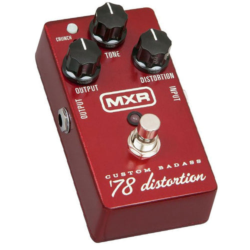 MXR M78 Custom Badass '78 Distortion Effects Pedal