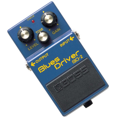 Boss BD2 Blues Overdrive Effects Pedal