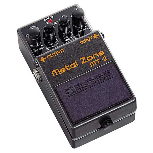 Boss MT2 Metal Zone Distortion Effects Pedal