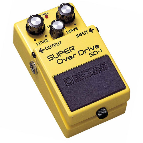 Boss SD1 Super Overdrive Effects Pedal
