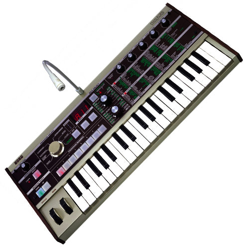 Korg MICROKORG Analog Synthesizer and Vocoder