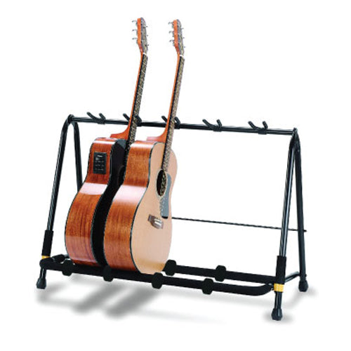 Hercules GS525B Folding Guitar Rack - Holds 5 Guitars