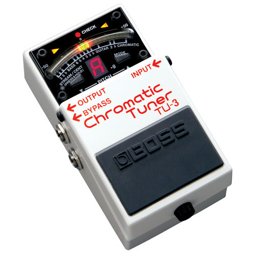 Boss TU3 Chromatic Tuner Effects Pedal
