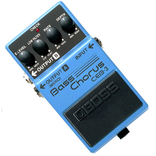 Boss CEB3 Bass Guitar Chorus Effects Pedal