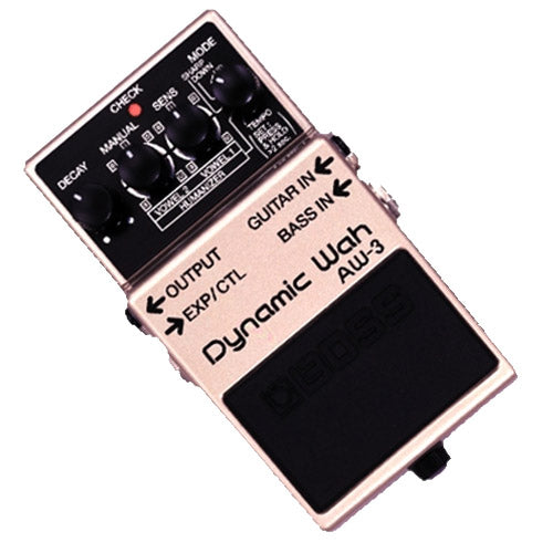Boss AW3 Dynamic Wah Effects Pedal
