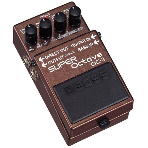 Boss OC3 Pedal Super Octave Effects Pedal