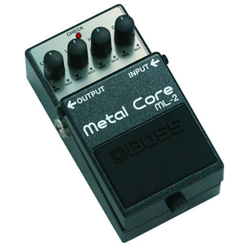 Boss ML2 Metal Core Distortion Effects Pedal