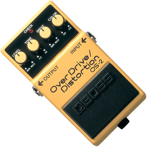 Boss OS2 Overdrive Distortion Effects Pedal