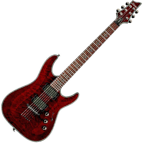 Schecter HRC1BCH Hellraiser C1 Electric Guitar in Black Cherry