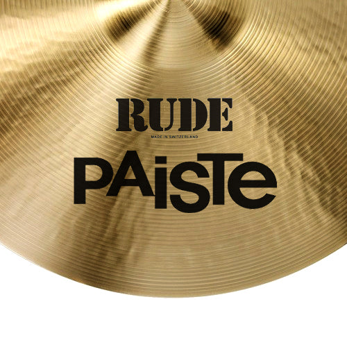 "Paiste 20"" Rude Crash/Ride Cymbal - 1128520"
