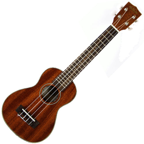 Kala KASLNG Long Neck Mahogany Soprano Ukulele in Gloss