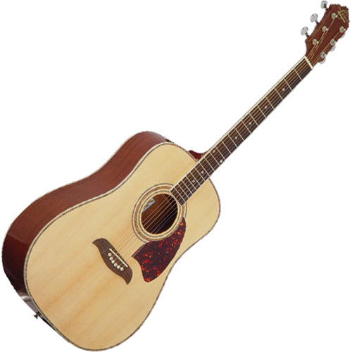 Oscar Schmidt OG2NAT Dreadnought Acoustic Guitar in Natural