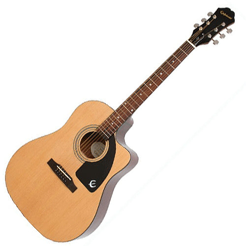 Epiphone AJ100CENACH AJ100 Cutaway Acoustic Electric in Natural
