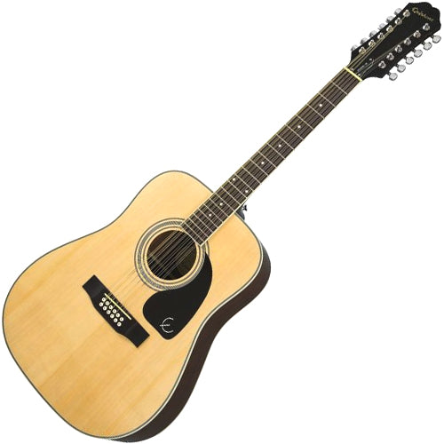 Epiphone DR212 12 String Acoustic Guitar in Natural - DR212NACH