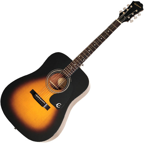 Epiphone DR100VSCH DR100 Dreadnought Acoustic Guitar in Vintage Sunburst