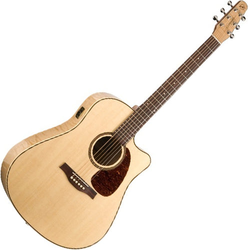 Seagull 32464 Performer Cutaway Acoustic Electric Flame Maple