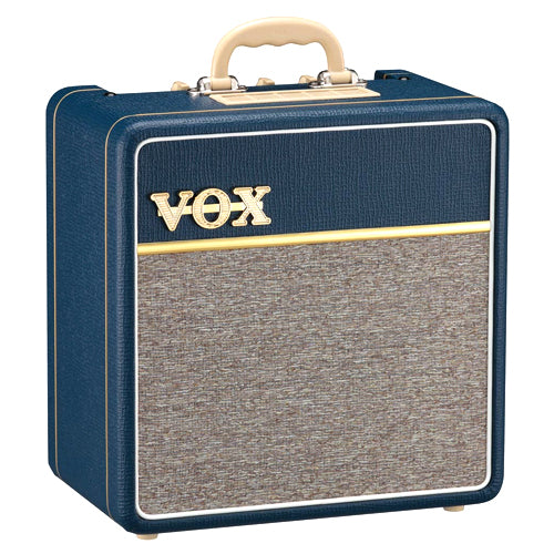 Vox AC4C1BL 4 Watt Tube Guitar Amplifier in Blue