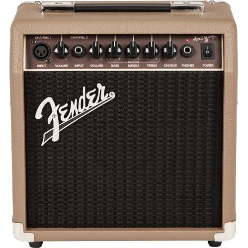 Fender 2313700000 Acoustasonic 15 Acoustic Guitar Amplifier