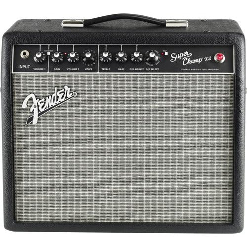 Fender 2223000000 Super Champ X2 Tube Guitar Amplifier w/ Modeling and Digital Effects