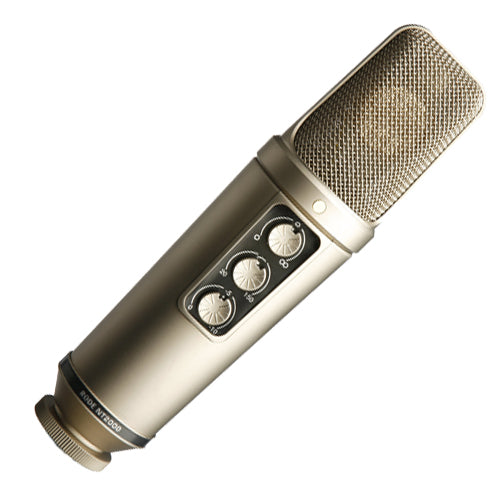 Rode NT2000 Multi-pattern Large Diaphragm Studio Condenser Microphone
