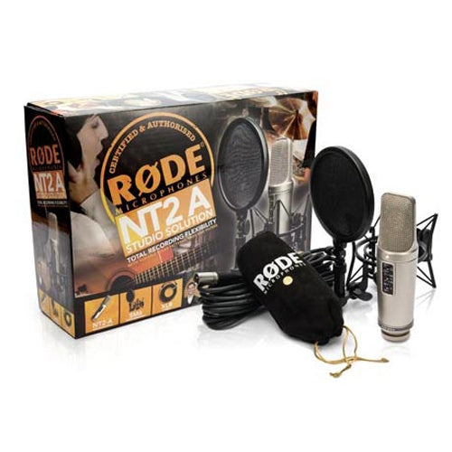 Rode NT2A Large Diaphragm Studio Condenser Microphone Package
