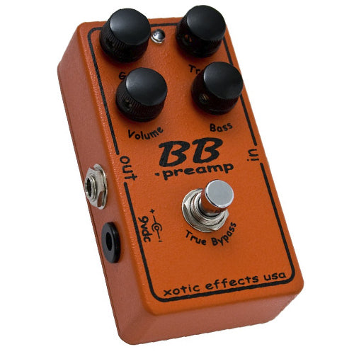 Xotic BBPREAMP Overdrive/Distortion Effects Pedal