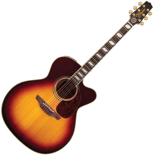 Takamine EF250TK Toby Keith Signature Jumbo Cutaway Acoustic Electric