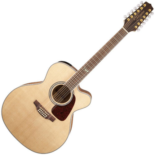 Takamine GJ72CE12NAT G 70 Series Jumbo Cutaway 12 String Acoustic Electric