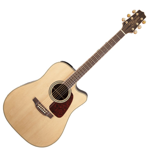 Takamine GD71CENAT G 70 Series Dreadnaught Cutaway Acoustic Guitar in Natural
