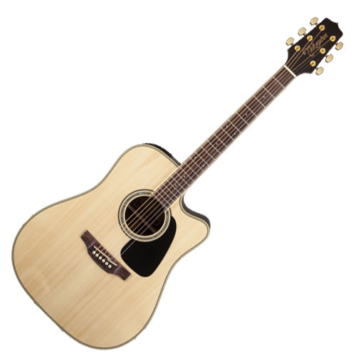 Takamine GD51CENAT G 50 Series Dreadnought Cutaway Acoustic Electric in Natural