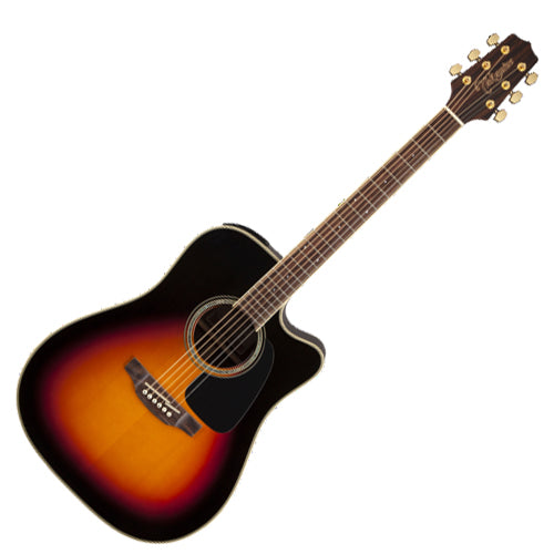 Takamine G 50 Series Dreadnought Cutaway Acoustic Electric in Brown Sunburst - GD51CEBSB