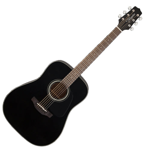 Takamine GD30BLK G 30 Series Dreadnought Acoustic Guitar in Black