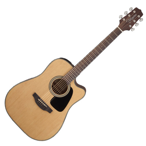 Takamine G 10 Series Dreadnought Cutaway Acoustic Electric in Natural - GD10CENS
