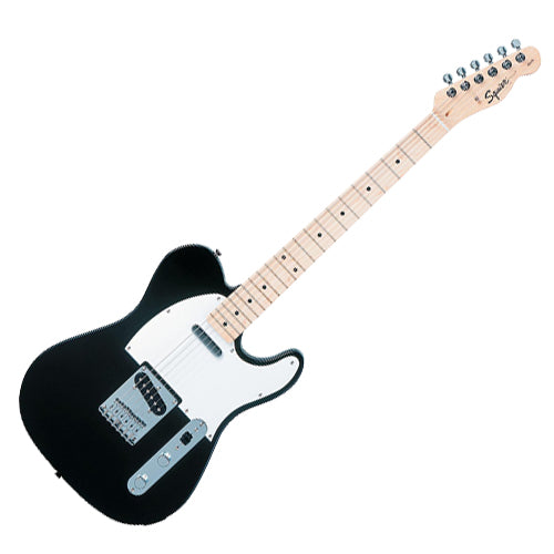 Squier Affinity Telecaster Electric Guitar Maple in Black - 0310202506
