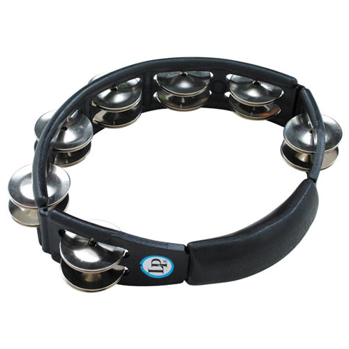 Latin Percussion Cyclops Hand Held Tambourine in Black - LP150
