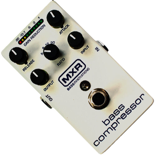 MXR M87 Bass Guitar Compressor Effects Pedal
