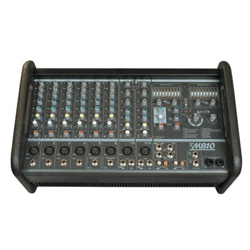 Yorkville M8102 10 Channel 800w Powered Mixer w/effects