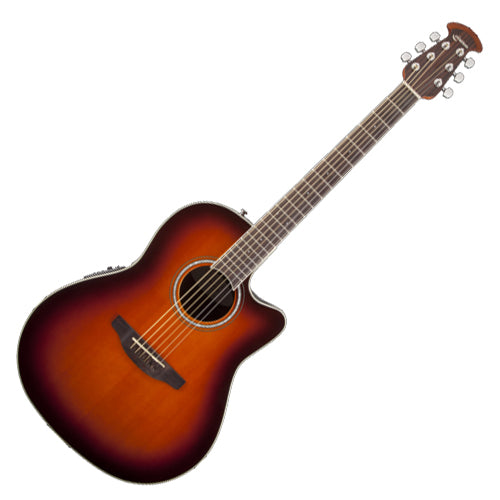 Ovation Celebrity Standard Acoustic Electric Mid Depth Bowl in Sunburst - CS241