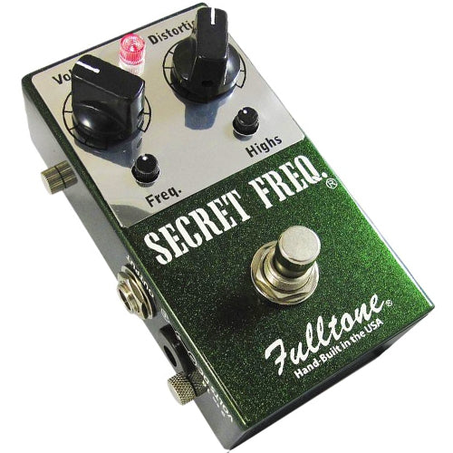 Fulltone SF Secret Frequency Overdrive Distortion Effects Pedal