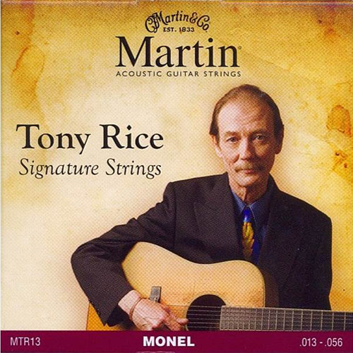 Martin MTR13 Tony Rice Signature Acoustic Guitar Strings Medium 13-56