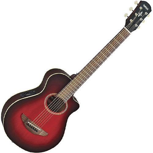 Yamaha 3/4 Size APX Acoustic Electric in Dark Red Sunburst - APXT2DRB