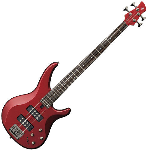 Yamaha TRBX304CAR TRBX Series Bass Guitar in Candy Apple Red