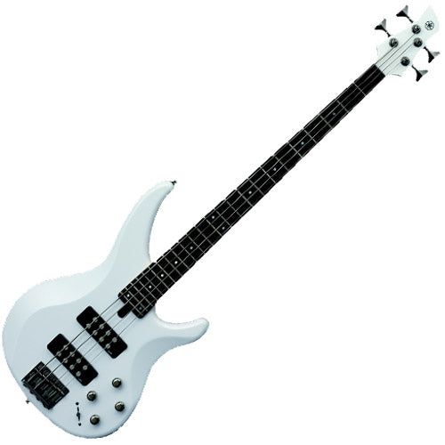 Yamaha TRBX304WH TRBX Series Bass Guitar in White