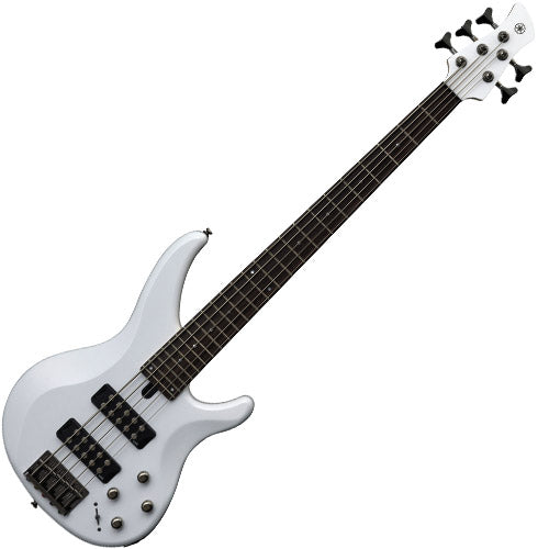 Yamaha TRBX305WH TRBX Series 5 String Bass Guitar in White