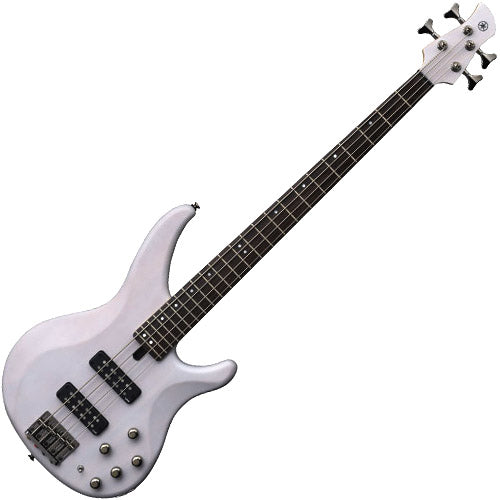 Yamaha TRBX Series Bass Guitar in Translucent White - TRBX504TWH