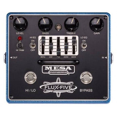 Mesa Boogie FLUXFIVE Flux-Five Dual Overdrive Effects Pedal