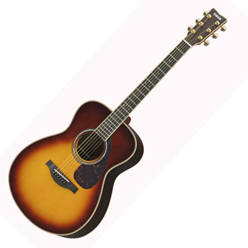Yamaha LS16AREBS L Series AllSolid Acoustic Electric Rosewood in Brown Sunburst