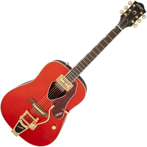 Gretsch Rancher Acoustic Electric Fideli-Tron Pickup Bigsby in Savannah Sunset - G5034TFT