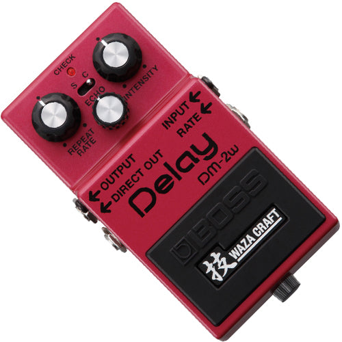 Boss DM2W WAZA Craft Delay Effects Pedal
