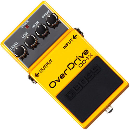 Boss OD1X Overdrive Effects Pedal